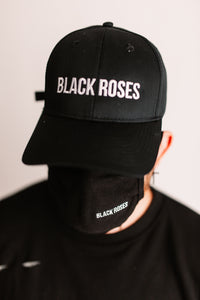 Black Roses Mask + Cap (Bundle)