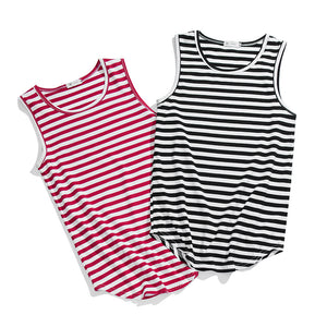 Summer Striped Tank Top