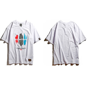 Tri Color Paint Tee