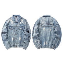 Gothic Denim Jacket