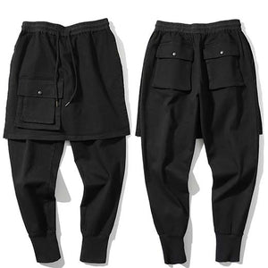 Skirt Dropped Cargo Sweats