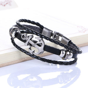 Vintage Anchor Wrist Band