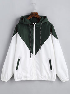 Two Tone Light Track Jacket