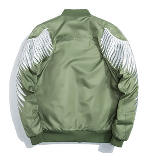 Angel Wings Bomber Jacket