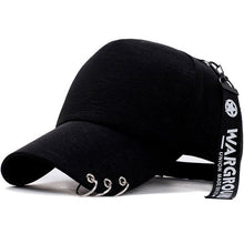 Strap Attached Harajuku Cap