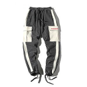 Checkered Cargo Pants