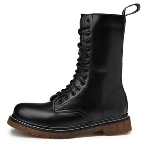 Tall Extended Combat Boot