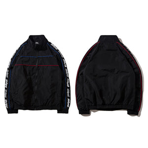 Zip Up Driver Jacket