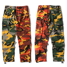 Baggy Two Tone Camo Pants