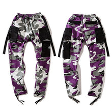 Multi-Pocket Camo Joggers