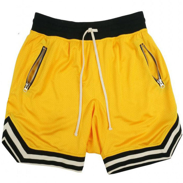 Stretch Fit Mesh Shorts