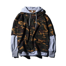 Under Laying Camo hoodie