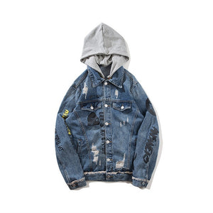 Hooded Street Jean Jacket