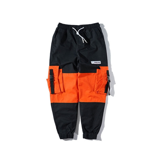Knee Blocked Cargo Pants