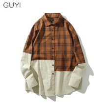 Split Flannel Shirt