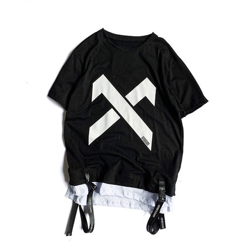 X Strapped Hanging Tee