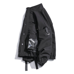 Strapped Hanging Windbreaker