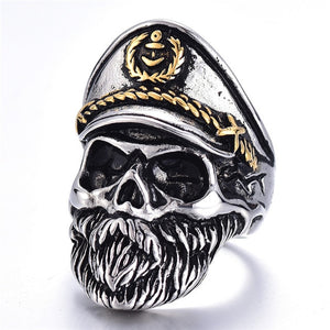 Bearded Commander Ring
