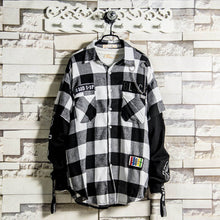 Flannel Patched Long Sleeve