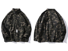 Basic Camo Long Sleeve