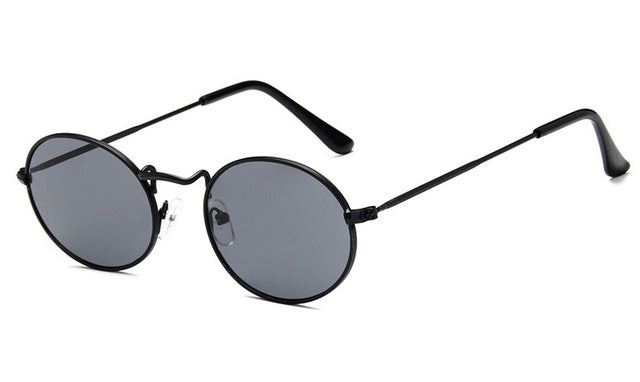 Black Round Frame Glasses