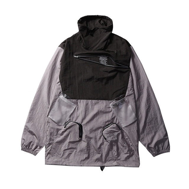 Turtle Neck Windbreaker