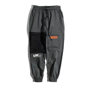 Patched Cargo Tactical Joggers