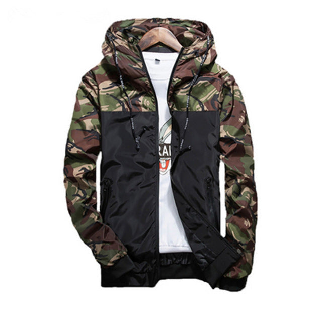 Light Camo Windbreaker