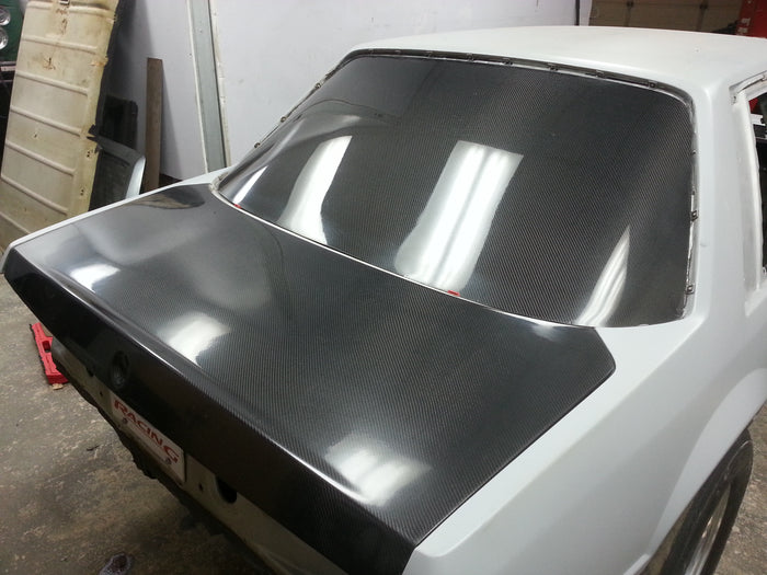 Fox Body Carbon Fiber Rear Glass Replacement