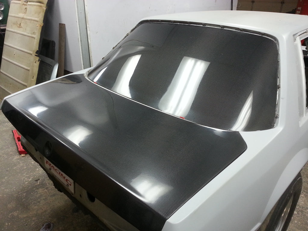 Fox Body Carbon Fiber Trunk Lid