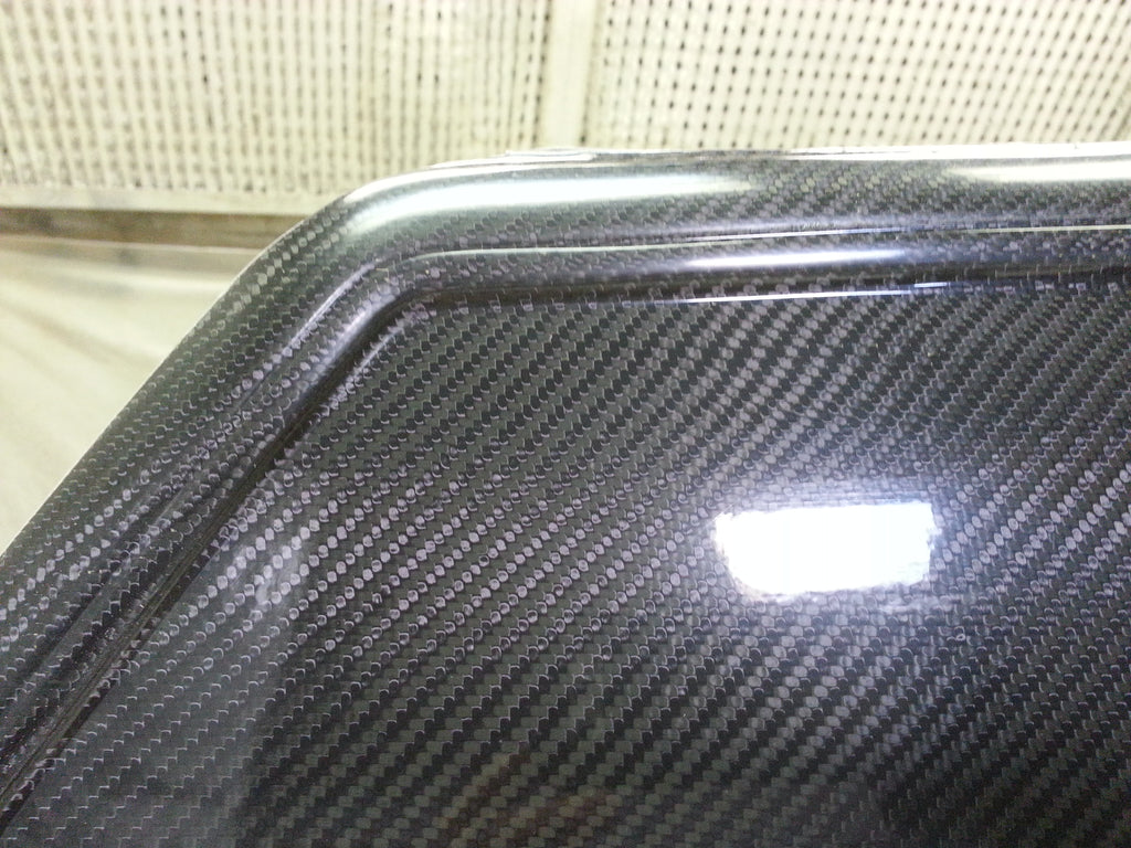 Fox Body Notch 1/4 Glass Carbon Replacement
