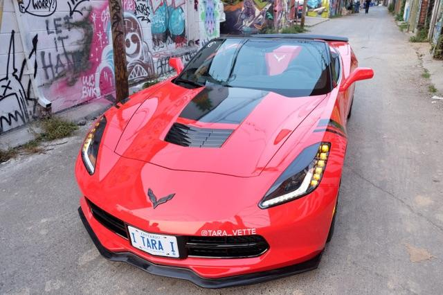 C7 Corvette Stingray Front Splitter - Fiberglass