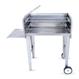 800 Mini Patio Freestanding Charcoal Braai Stainless Steel