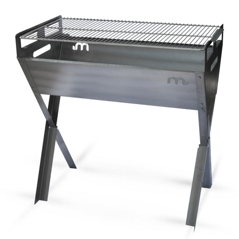 Crossover Stainless Steel Freestanding Braai