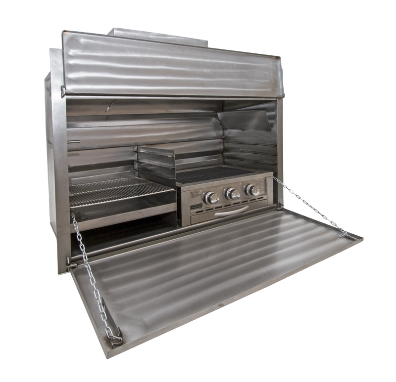 1200 Combo Stainless Steel Built-In Braai (Excluding 630 Gas Insert)