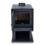 Bosca Limit 380 Closed Combustion Fireplace door open