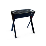 Heritage Series 600 Crossover Freestanding Charcoal Braai Side View