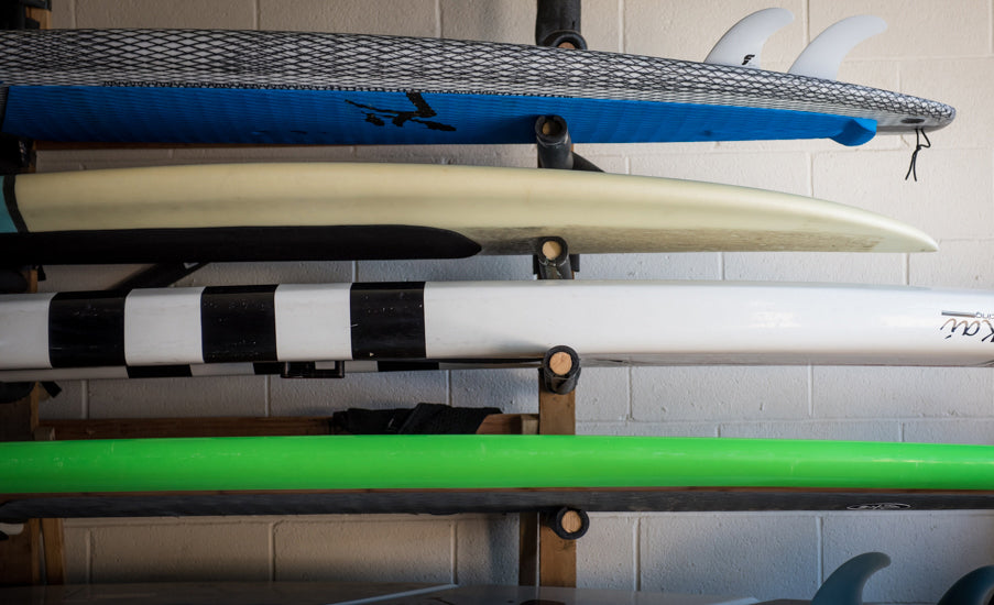 Paddleboard Winter Storage