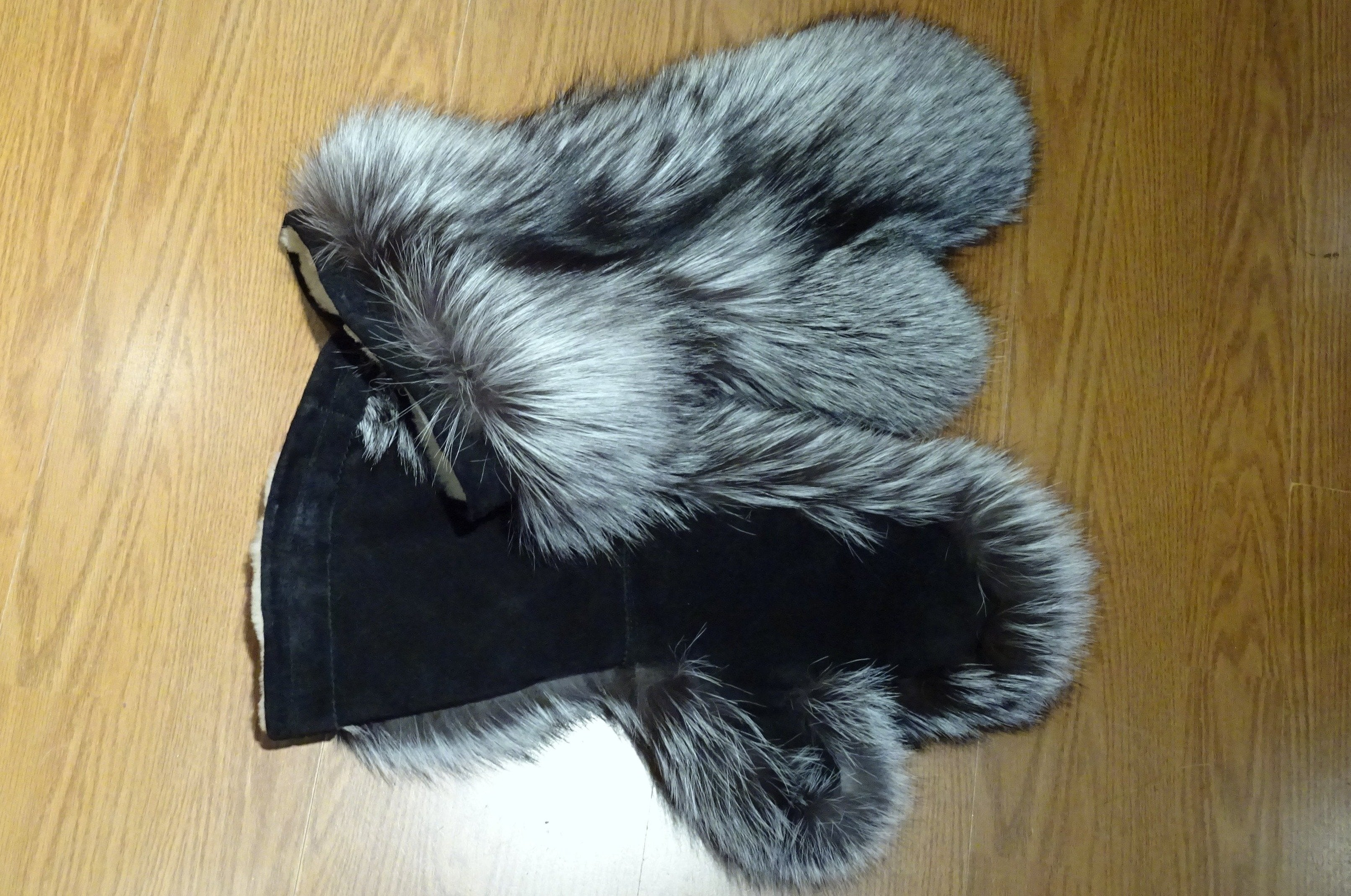 Deerhide Gauntlets with Sherling Lining