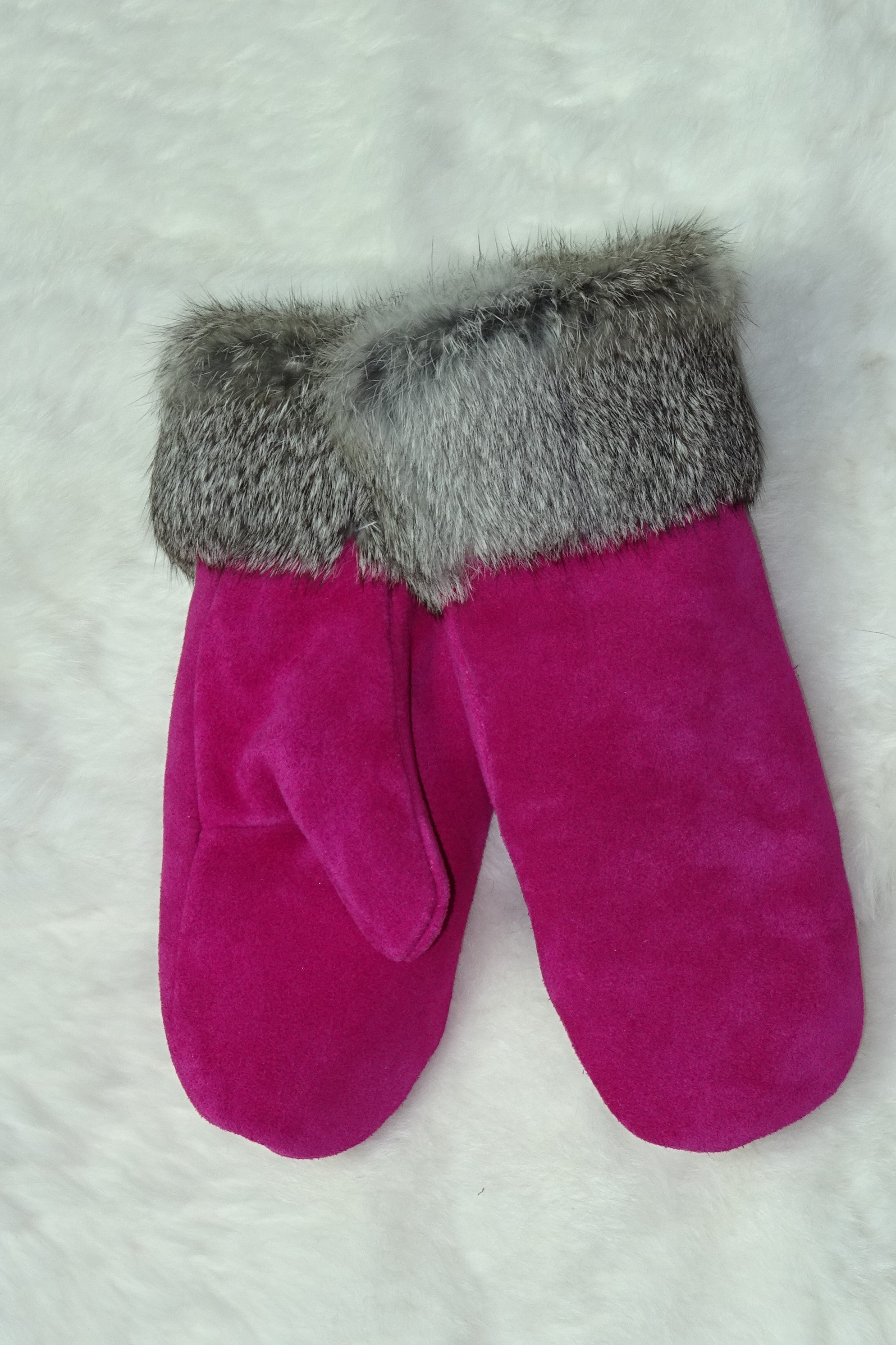 Deersuede Ladies Mitts
