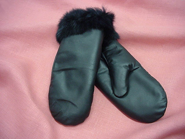 Deerskin Leather Ladies Mitts