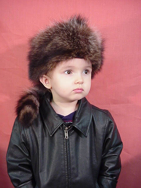 Davy Crockett Kids Hat