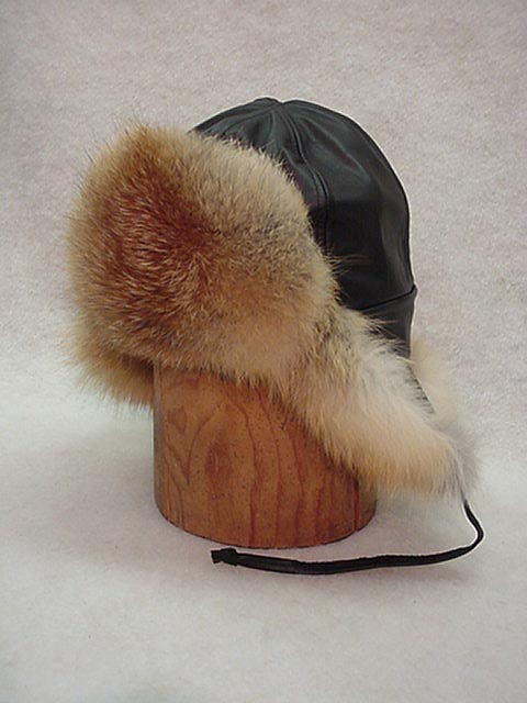 Bomber Hat Red Fox