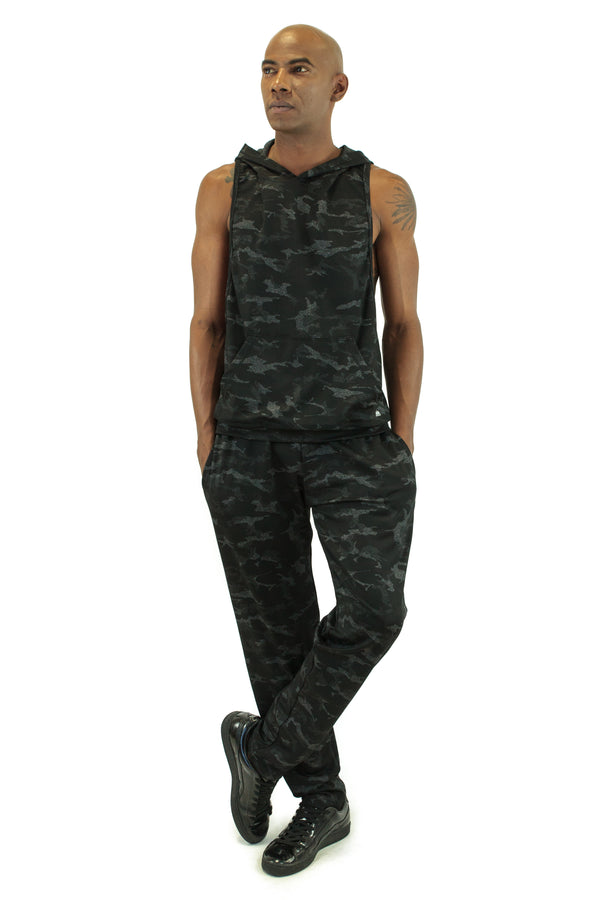 Military-Style Men's Fitness Cloth Set