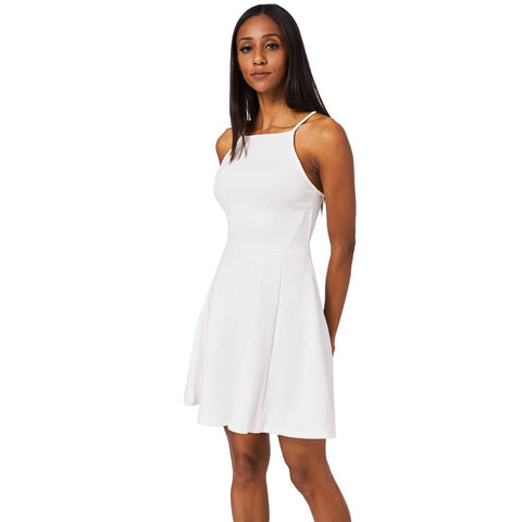Light Cream Skater Dress Ex-Branded
