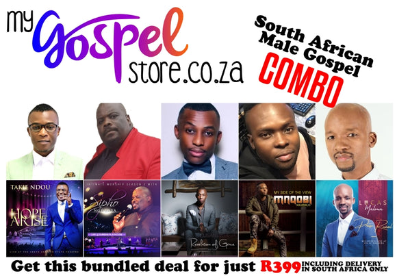 South African Male Gospel Combo (5 CD's)