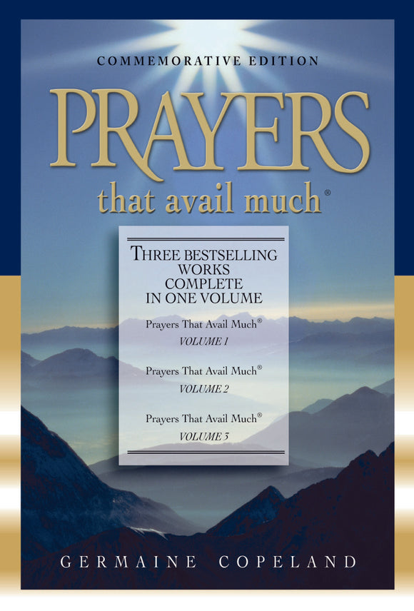 Germaine Copeland - Prayers That Avail Much 3 in 1 (Leather)