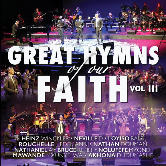 Great Hymns of our Faith Vol. 3 CD|DVD