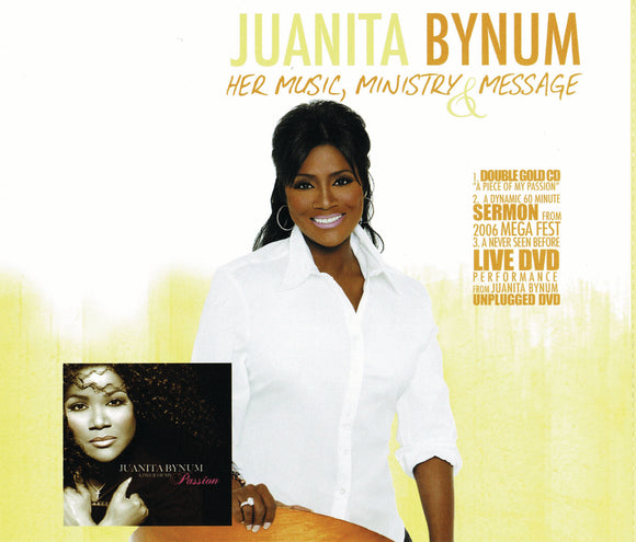 Juanita Bynum - Her Music, Ministry & Message (2CD + DVD)