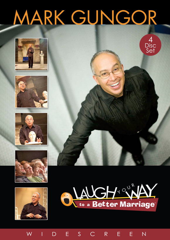 Mark Gungor - Laugh Your Way to a Better Marriage (4DVD's)